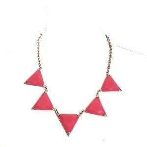 Baublebar Fluorescent Hot Pink Statement Necklace